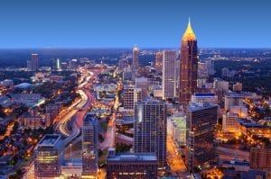 car title loans Atlanta Georgia buildings